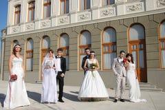 Παντρεμένα ζευγάρια Στοκ Φωτογραφία
