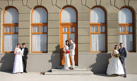 Παντρεμένα ζευγάρια Στοκ εικόνα με δικαίωμα ελεύθερης χρήσης