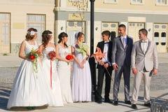 Παντρεμένα ζευγάρια Στοκ εικόνες με δικαίωμα ελεύθερης χρήσης