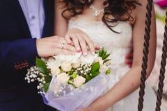 παντρεμένος πρόσφατα Στοκ εικόνες με δικαίωμα ελεύθερης χρήσης