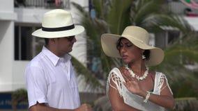 Παντρεμένο ζευγάρι προβλημάτων σχέσης απόθεμα βίντεο