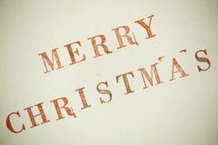 Παντρεψτε τα Χριστούγεννα Στοκ Εικόνες
