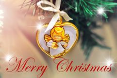 Παντρεψτε το σχέδιο υποβάθρου Χριστουγέννων για την κάρτα χαιρετισμών σας, ιπτάμενα, πρόσκληση, αφίσες, φυλλάδιο, εμβλήματα, ημερ Στοκ Φωτογραφίες
