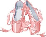 παντόφλες μπαλέτου διανυσματική απεικόνιση