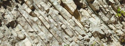 Πανόραμα απότομων βράχων Στοκ Εικόνα