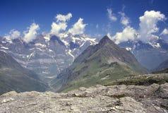 Πανόραμα Αυστρία βουνών Στοκ Εικόνες