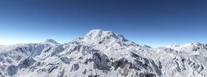 Πανόραμα βουνών στοκ φωτογραφίες με δικαίωμα ελεύθερης χρήσης