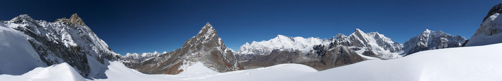 πανόραμα βουνών τοπίων των Ι&m στοκ φωτογραφίες