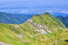 Πανόραμα 2 βουνών στοκ εικόνες με δικαίωμα ελεύθερης χρήσης