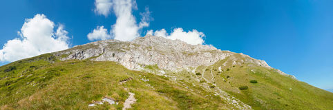 Πανόραμα βουνών Pirin Στοκ Εικόνες