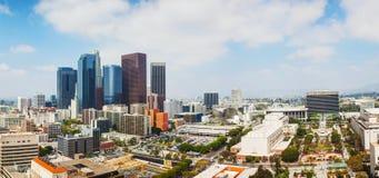 Πανόραμα εικονικής παράστασης πόλης του Λος Άντζελες Στοκ Εικόνες