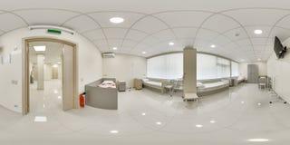 πανόραμα 360 ενός ιατρικού οργάνου Στοκ φωτογραφία με δικαίωμα ελεύθερης χρήσης