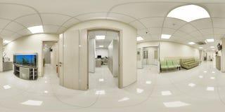 πανόραμα 360 ενός ιατρικού οργάνου Στοκ φωτογραφίες με δικαίωμα ελεύθερης χρήσης