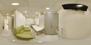 πανόραμα 360 ενός ιατρικού οργάνου Στοκ Φωτογραφίες