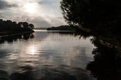 Πανόραμα λιμνών Στοκ Φωτογραφία