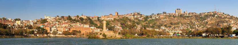 Πανόραμα λιμνών Antananarivo Στοκ εικόνα με δικαίωμα ελεύθερης χρήσης