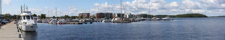 πανόραμα κόλπων Στοκ φωτογραφία με δικαίωμα ελεύθερης χρήσης