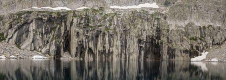 Πανόραμα λιμνών βαράθρων στοκ φωτογραφία