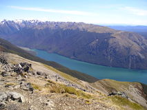Πανόραμα λιμνών βουνών Στοκ Φωτογραφία