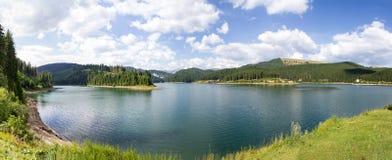 Πανόραμα λιμνών Bolboci Στοκ Εικόνες