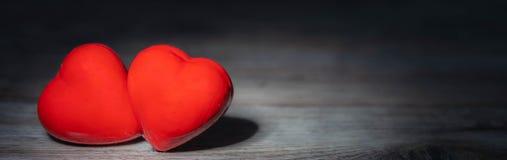 Πανόραμα με τις καρδιές στοκ φωτογραφία με δικαίωμα ελεύθερης χρήσης