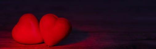 Πανόραμα με τις καρδιές στοκ φωτογραφίες με δικαίωμα ελεύθερης χρήσης