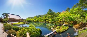 Πανόραμα ναών Honganji Higashi στο Κιότο, Ιαπωνία Στοκ φωτογραφία με δικαίωμα ελεύθερης χρήσης