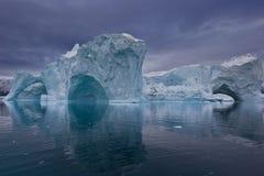 πανόραμα παγόβουνων Στοκ φωτογραφία με δικαίωμα ελεύθερης χρήσης