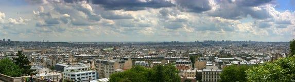 πανόραμα Παρίσι εικονικής & Στοκ Εικόνες