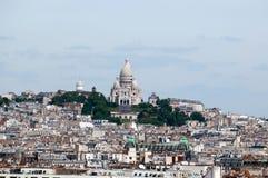 πανόραμα Παρίσι κυρίας notre Στοκ Εικόνες