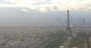 πανόραμα Παρίσι απόθεμα βίντεο