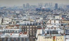 πανόραμα Παρίσι Στοκ Φωτογραφίες