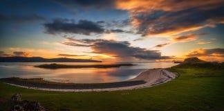 Πανόραμα παραλιών κοραλλιών Στοκ εικόνα με δικαίωμα ελεύθερης χρήσης