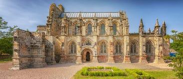 Πανόραμα παρεκκλησιών του Ρόσλυν Στοκ φωτογραφία με δικαίωμα ελεύθερης χρήσης