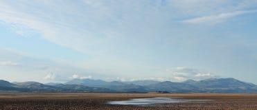 Πανόραμα περιοχής λιμνών Στοκ φωτογραφίες με δικαίωμα ελεύθερης χρήσης