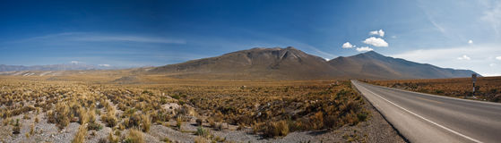 πανόραμα Περού στοκ εικόνα με δικαίωμα ελεύθερης χρήσης