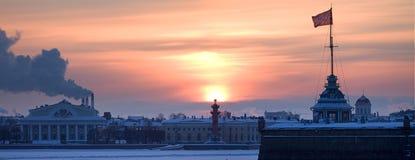 πανόραμα Πετρούπολη Άγιο&sigmaf Στοκ φωτογραφία με δικαίωμα ελεύθερης χρήσης
