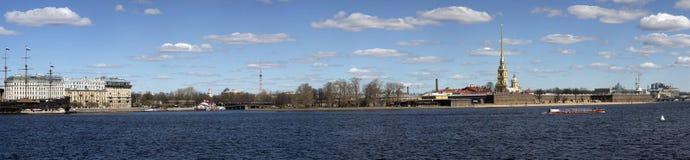 πανόραμα Πετρούπολη ST Στοκ Εικόνες