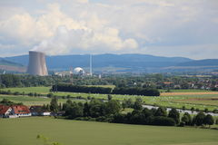 Πανόραμα που πυροβολείται της χώρας βουνών Weser Στοκ φωτογραφίες με δικαίωμα ελεύθερης χρήσης