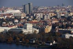 πανόραμα Πράγα Στοκ εικόνα με δικαίωμα ελεύθερης χρήσης