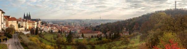 πανόραμα Πράγα Στοκ φωτογραφίες με δικαίωμα ελεύθερης χρήσης