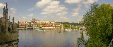 Πανόραμα προκυμαιών του μικρότερου τετάρτου, Πράγα, Δημοκρατία της Τσεχίας στοκ φωτογραφίες με δικαίωμα ελεύθερης χρήσης