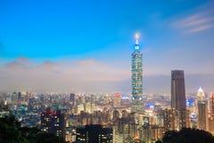 Πανόραμα πόλεων της Ταϊπέι Στοκ εικόνες με δικαίωμα ελεύθερης χρήσης