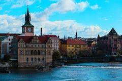 Πανόραμα πόλεων Τσεχιών, Πράγα Πανοραμική άποψη της Πράγας πόλεων Στοκ φωτογραφία με δικαίωμα ελεύθερης χρήσης