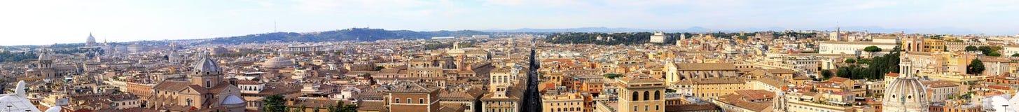 πανόραμα Ρώμη Στοκ εικόνες με δικαίωμα ελεύθερης χρήσης