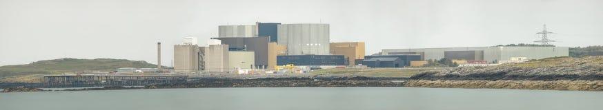 Πανόραμα σταθμών πυρηνικής ενέργειας Στοκ Φωτογραφίες