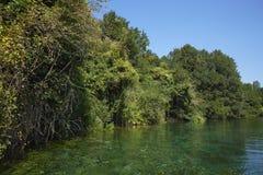 Πανόραμα στη λίμνη της Οχρίδας στη Μακεδονία στοκ εικόνα με δικαίωμα ελεύθερης χρήσης
