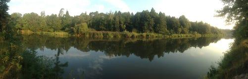 Πανόραμα στον ποταμό Στοκ Εικόνα