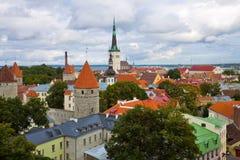 πανόραμα Ταλίν της Εσθονία& στοκ φωτογραφίες