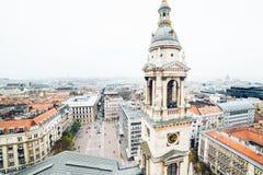 Πανόραμα της Βουδαπέστης στην ημέρα φθινοπώρου Στοκ φωτογραφία με δικαίωμα ελεύθερης χρήσης